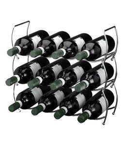 Stapelbaar wijnrek (3 delig)
