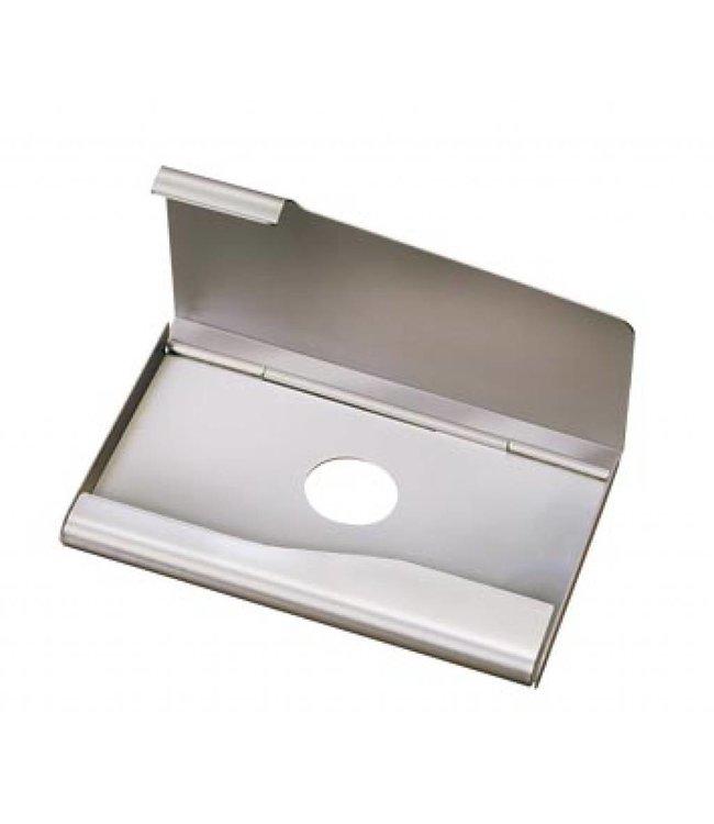 Aluminium Visitekaarthouder