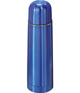 RVS Thermosfles 0.5l blauw