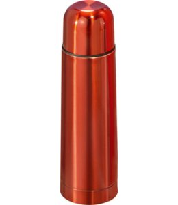 RVS Thermosfles 0.5l rood