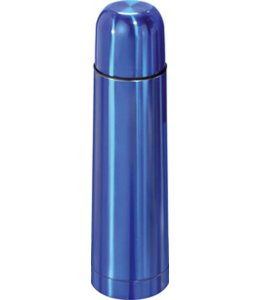 RVS Thermosfles 0.7l blauw