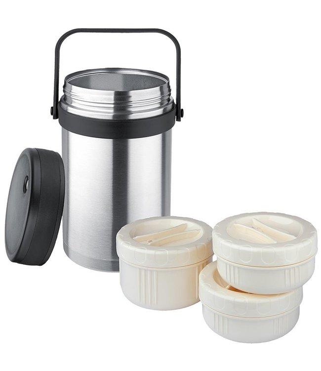 Isosteel Voedselcontainer RVS 1.5 liter