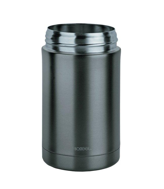 Isosteel RVS Voedselcontainer 0.5 liter grijs