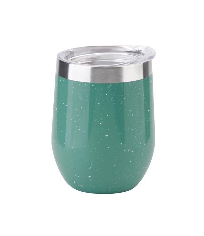 Isosteel RVS Dubbelwandige thermosbeker groen 0,36 Liter