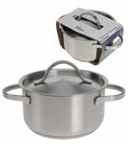 Pan Cool Cooking met deksel 16 cm