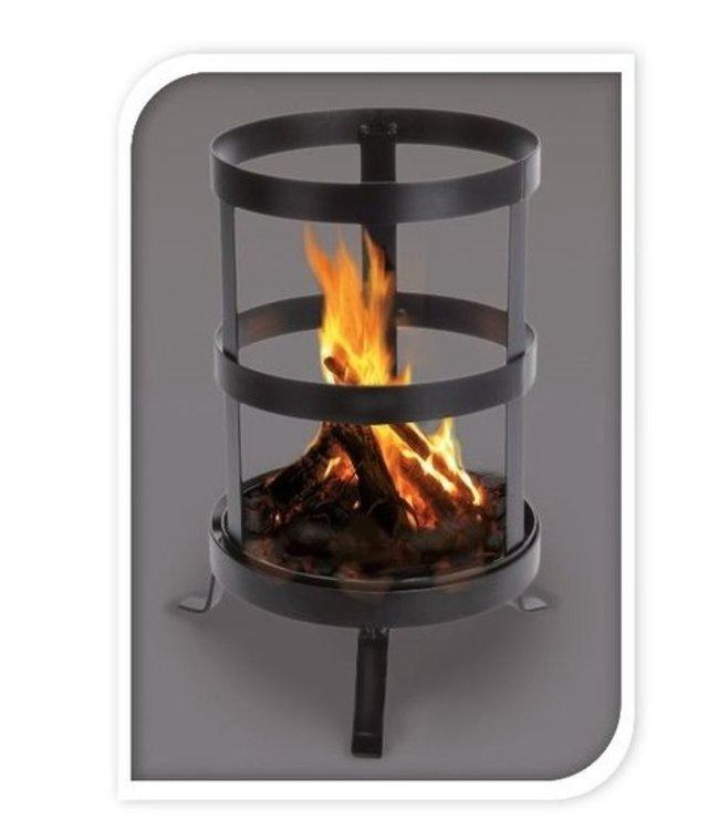 Vuurkorf langwerpig voor houtblokken