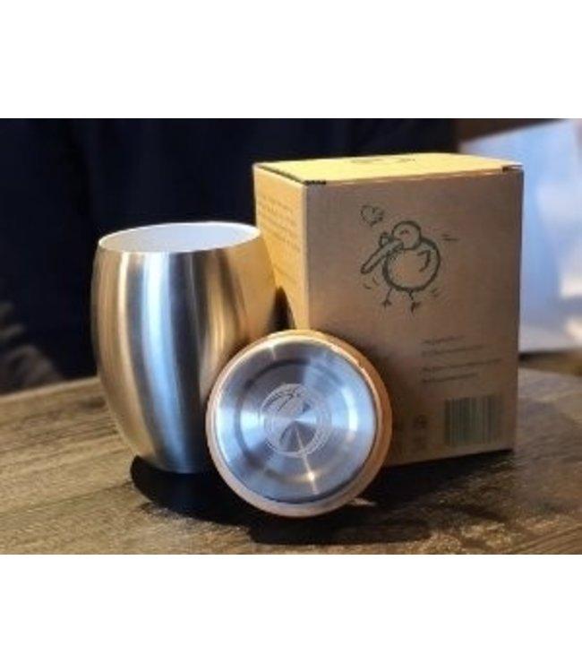 "ECOtankas™ RVS Drinkbeker ""Cup Grail"""