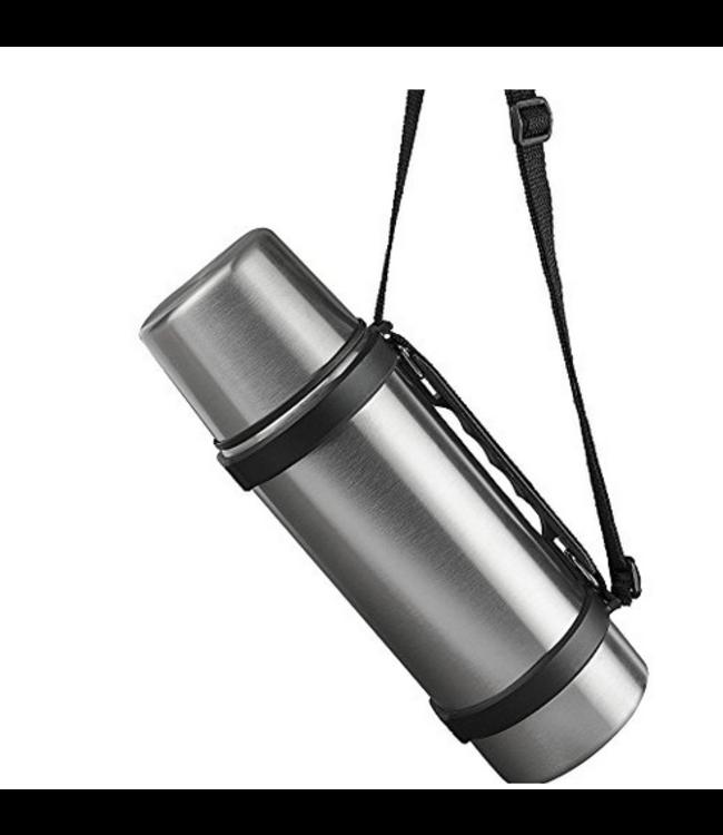 Isosteel RVS Thermosfles 0,75 liter met handgreep