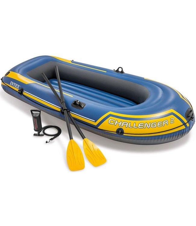 Intex Challenger 2 - Opblaasboot - complete set