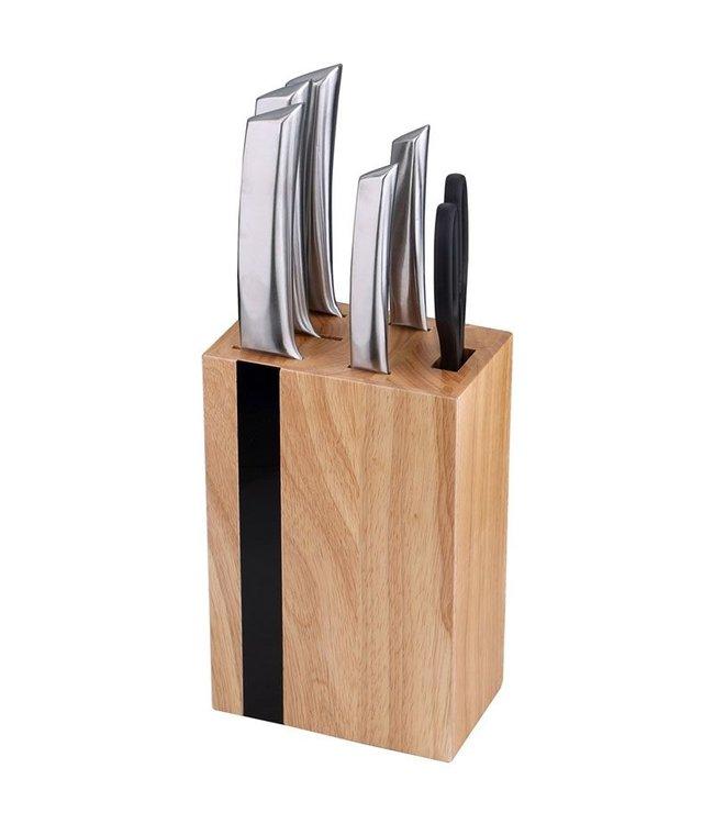Bergner Luxe Messenblok met messenset