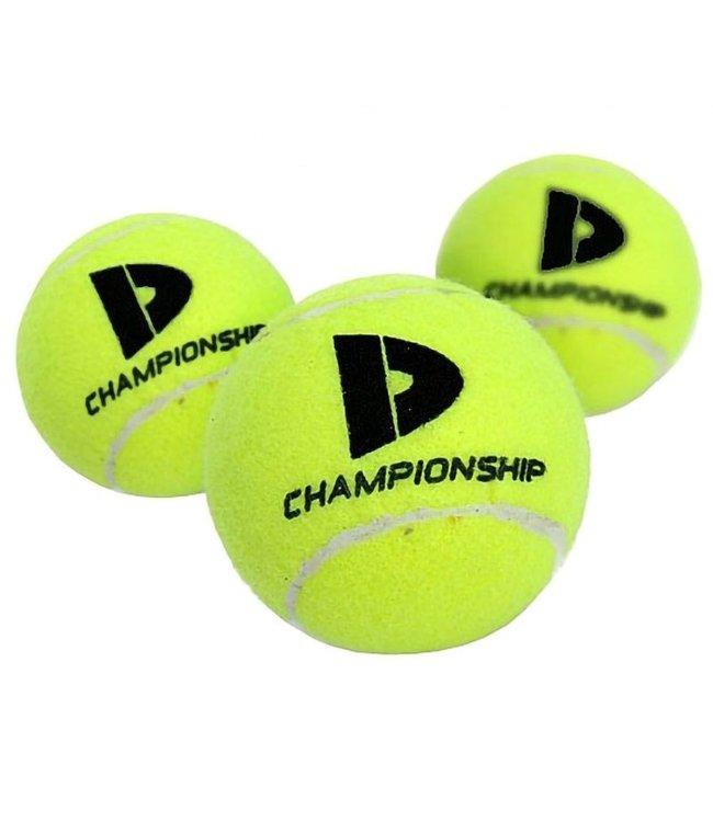 Donnay Championship 3 tennisballen