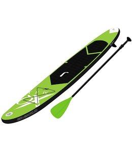 XQ Max SUP Board Set - Opblaasbaar - 320x76x15cm - lime