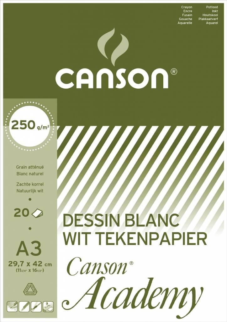 Canson Canson Tekenblok Academy ft 29,7 x 42 cm (A3)