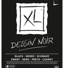 Canson Canson tekenblok XL 150g/m² ft A3, 40 vel, zwart