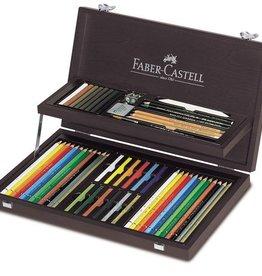 Faber Castell Faber Castell Art & Graphic Compendium inc. Mahoniehouten Box