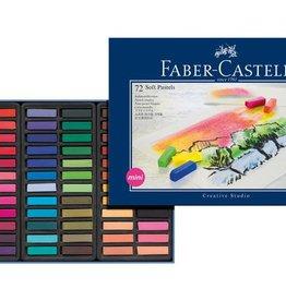 Faber Castell Faber Castell halve lengte etui à 72 stuks pastelkrijt
