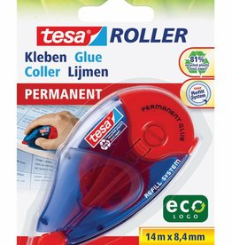 Tesa Tesa lijmroller Eco roller permanent