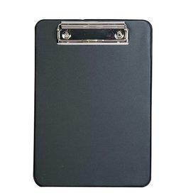 Alco Alco klembord karton met kunststof omtrokken, A5 zwart