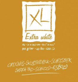 Canson Canson schetsblok XL Extra White ft 21 x 29,7 cm (A4)