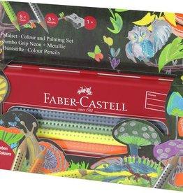 Faber Castell Faber-Castell kleurpotlood Jumbo GRIP assorti