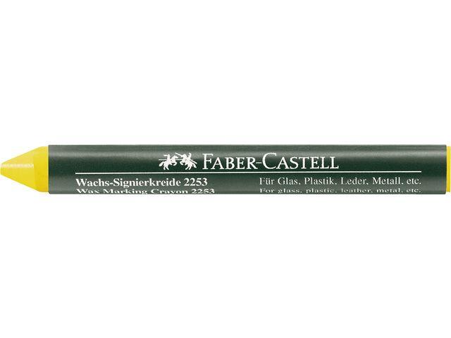 Faber Castell Faber Castell merkkrijt 2253 Geel