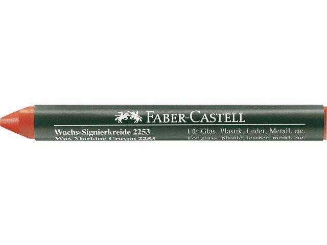 Faber Castell Faber Castell merkkrijt 2253 rood