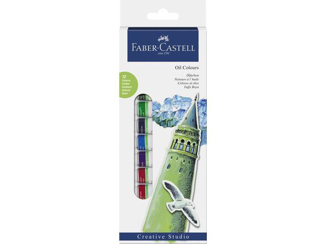 Faber Castell Faber-Castell olieverf  starterset 12 tubes à 12ml assorti