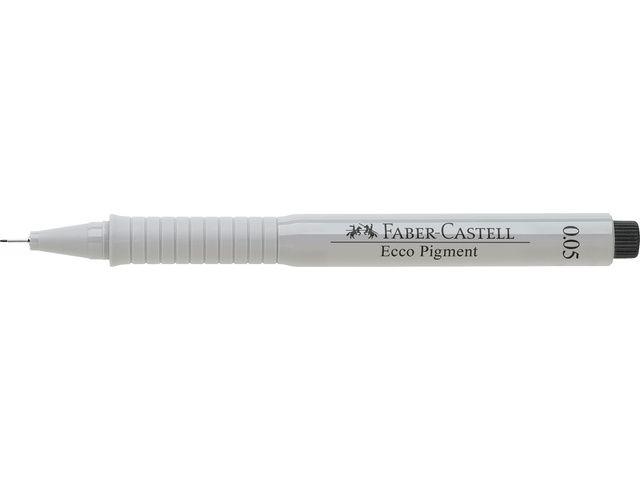 Faber Castell Faber Castell tekenpen Ecco Pigment 0,05 mm zwart