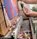 Talens Rembrandt softpastels, doos met 15 pastels