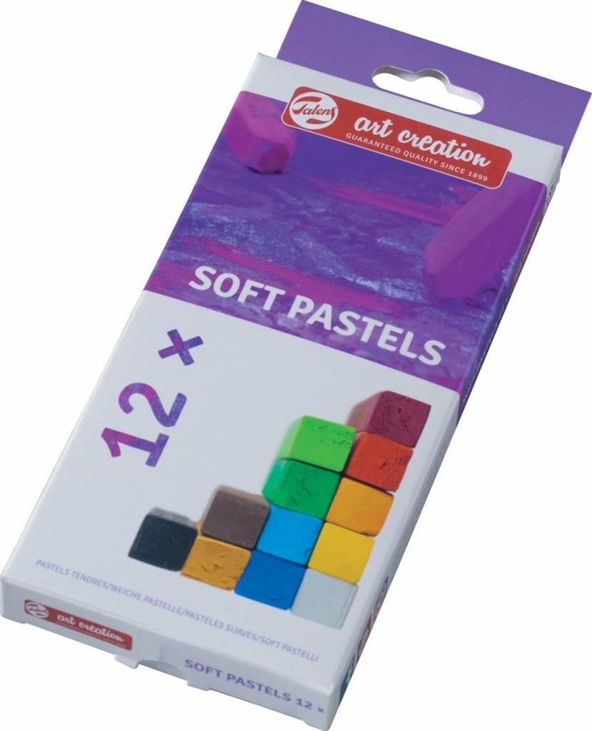 Talens Talens Art Creation softpastels, doos met 12 stuks in geassorteerde kleuren
