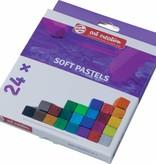 Talens Talens Art Creation softpastels, doos met 24 stuks in geassorteerde kleuren