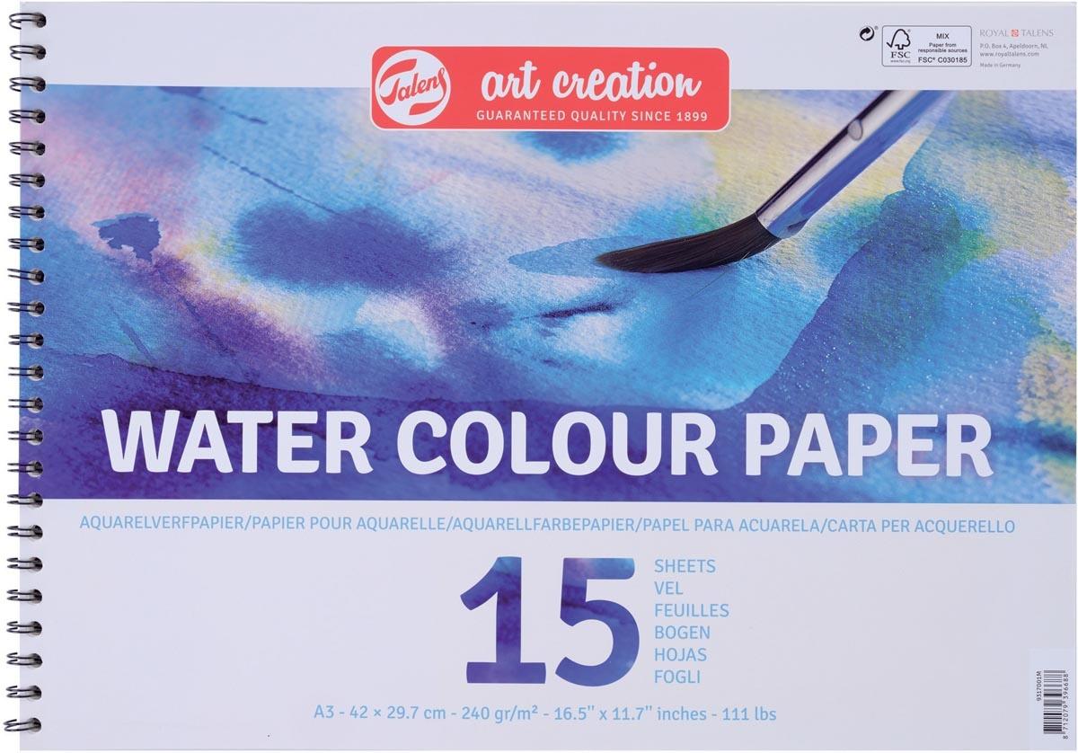 Talens Talens Art Creation aquarelpapier 240 g/m² ft A3