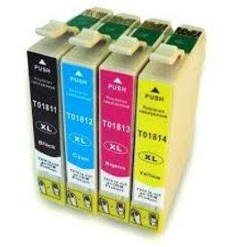 Epson NuOffice Epson T18 Set Compatible inktcartridge's