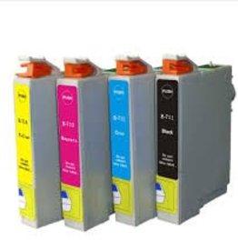 Epson NuOffice Epson T0715 Set Compatible inkt cartridge's