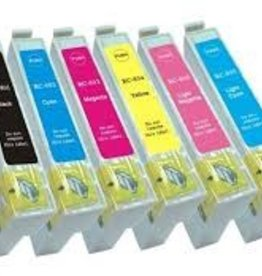 Epson NuOffice Epson T0807 SET Compatible set inkt