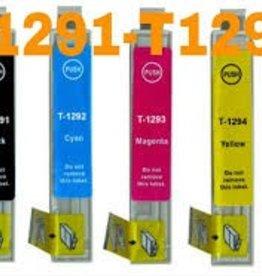 Epson NuOffice Epson T1295 SET Compatible inkt cartridge's