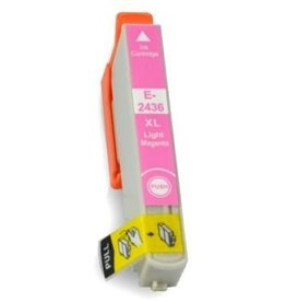 Epson NuOffice Epson T2436 Light-Magenta Compatible inkt cartridge