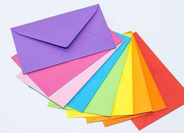 Etiketten , Stickers  & Enveloppen