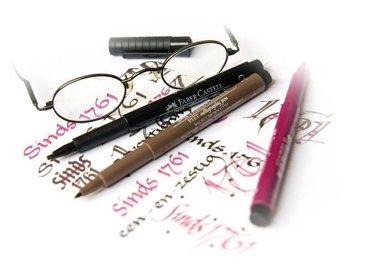 Tekenstiften / Brush Pennen