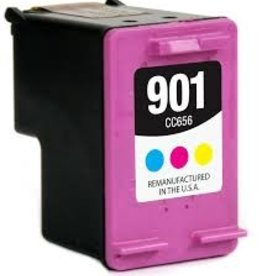 Hewlett-Packerd NuOffice HP Nr. 901XL COLOR Remanufactured inkt cartridge