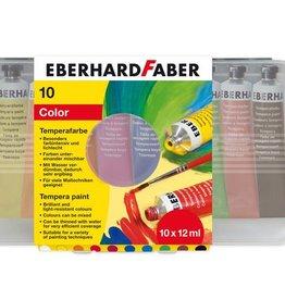 Eberhard Faber Eberhard Faber 10 kleuren tube 12 ml PLAKKAATVERF