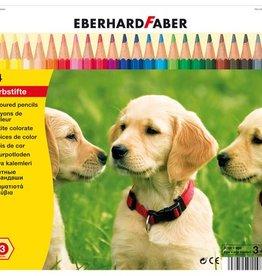 Eberhard Faber Eberhard Faber Classic metaaletui a 24 stuks