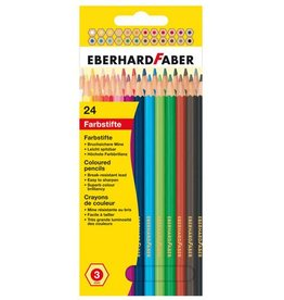 Eberhard Faber Eberhard Faber Kid 17,5cm etui à 24 stuks assorti kleuren