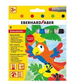 Eberhard Faber Eberhard Faber 6 kleuren gelkleurpotloden in karton etui