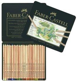 Faber Castell Faber Castell Pitt pastelpotlood metalen etui a 24 stuks