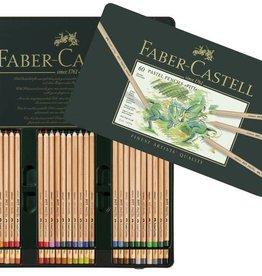 Faber Castell Faber Castell Pitt pastelpotlood metalen etui a 60 stuks