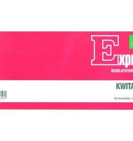 Expres Sigel Expres kwitantieboekje 84x205mm blok a 100 blad