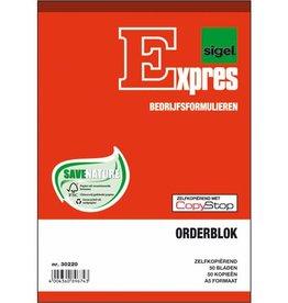 Expres Sigel Expres A5 orderblok zelfkopierend 2x50 blad