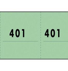 Expres Sigel Expres nummerblok groen 10 blok a 100 vel 1 t/m 1000