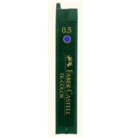 Faber Castell Faber Castell Super-Polymer 0,5mm blauw potloodstiftjes